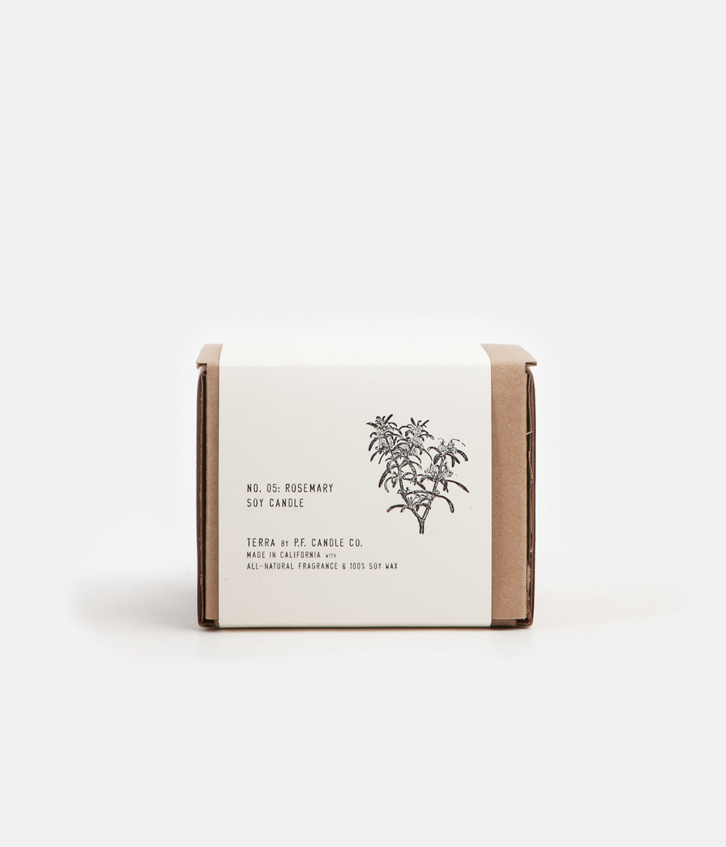 P.F. Candle Co. No. 5 Rosemary Terra Candle - 17.5oz
