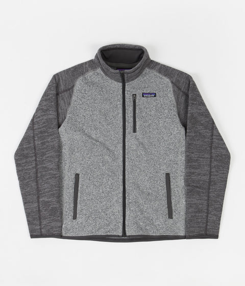 Patagonia Better Sweater Jacket - Nickel / Forge Grey