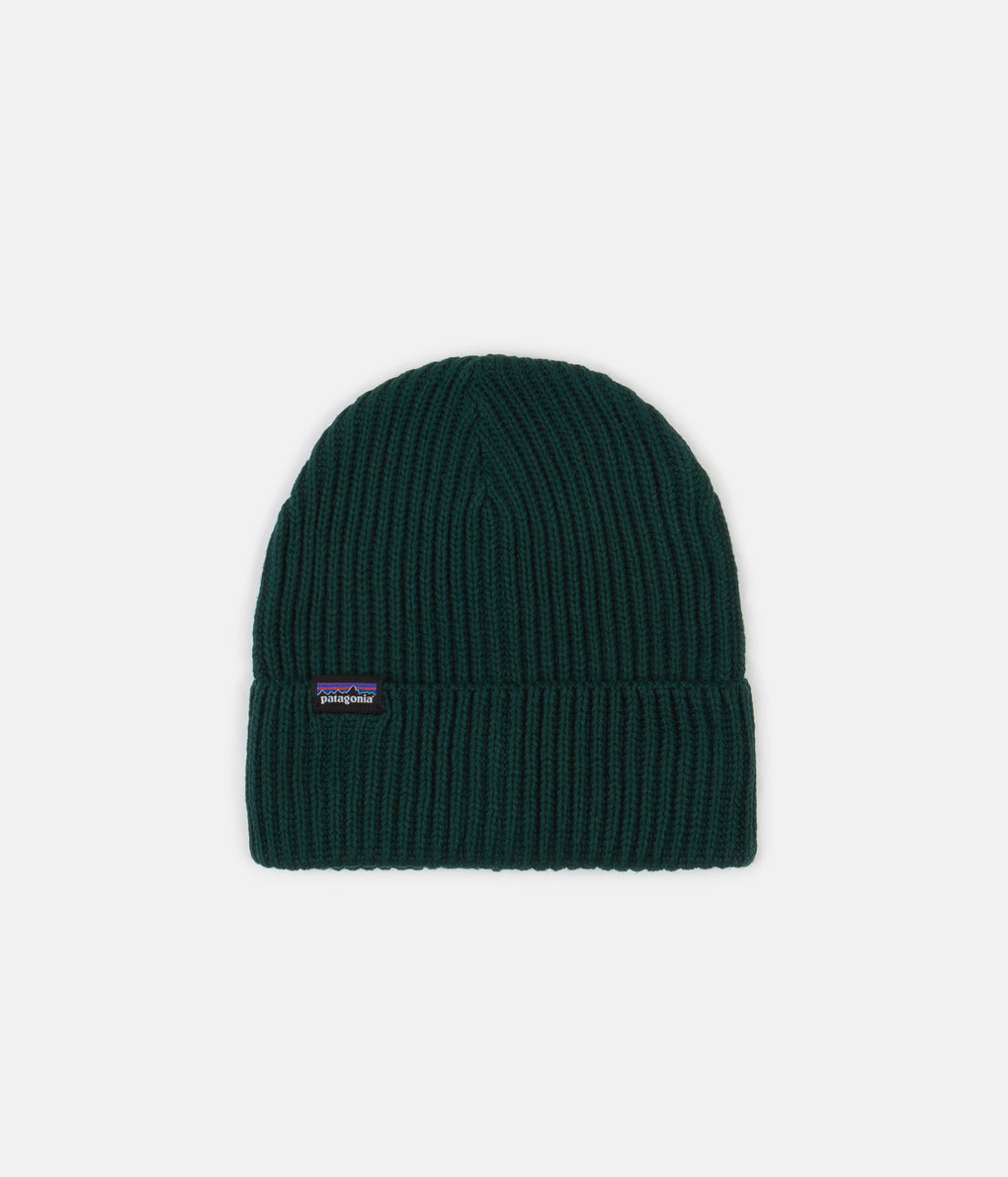 Patagonia Fisherman's Rolled Beanie - Piki Green