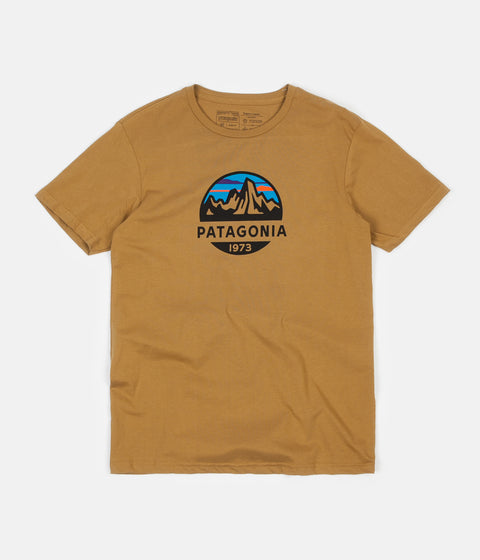 Patagonia Fitz Roy Scope Organic T-Shirt - Kastanos Brown