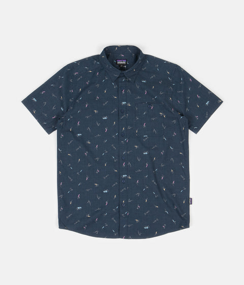 Patagonia Go To Shirt - Surfers: Stone Blue