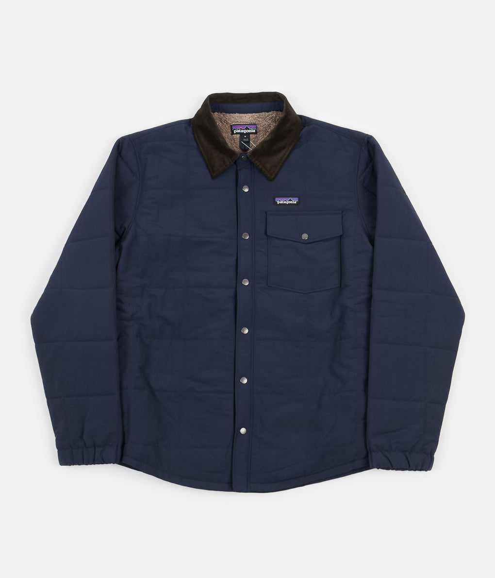 Patagonia Isthmus Quilted Shirt Jacket - New Navy