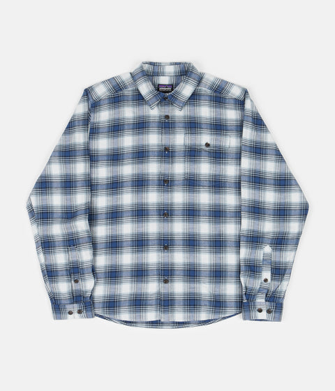 Patagonia Lightweight Fjord Flannel Shirt - Grange: Superior Blue