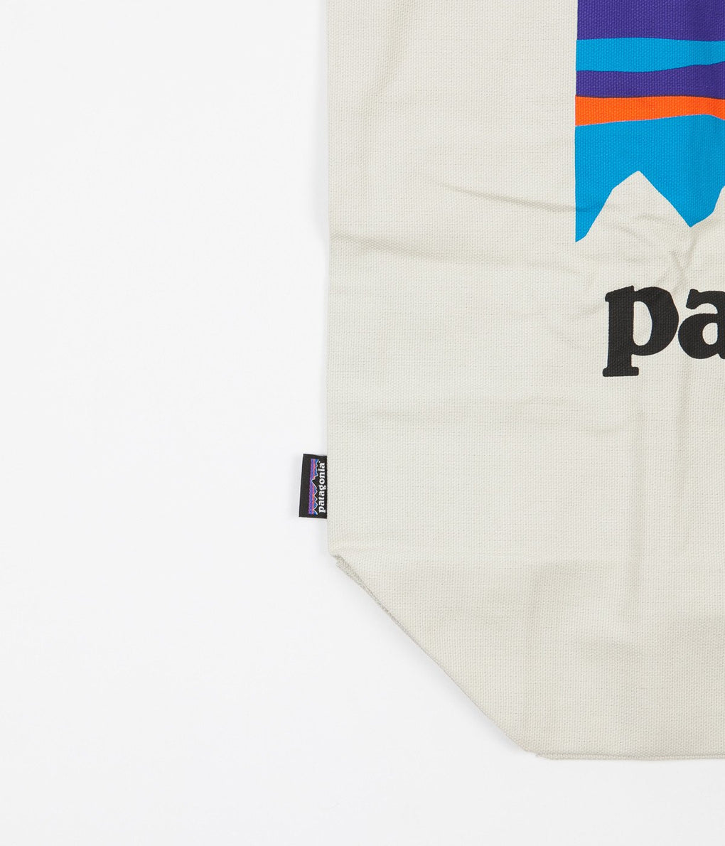 Patagonia Market Tote Bag - Shop Sticker / Bleached Stone