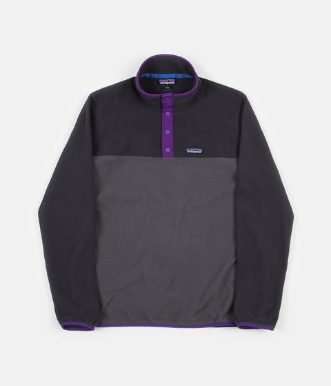 Patagonia Micro D Snap-T Pullover Fleece - Forge Grey