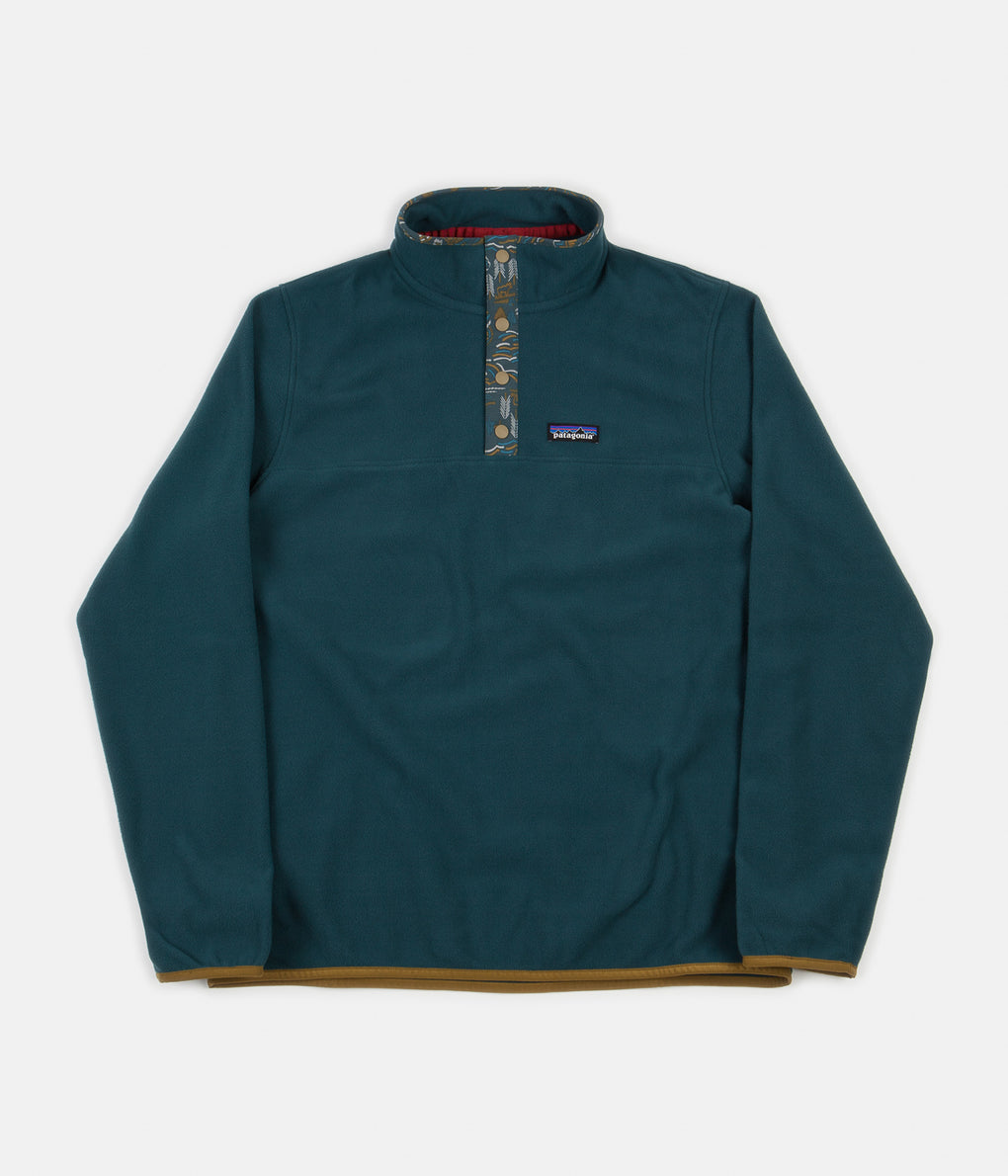 Patagonia Micro D Snap-T Pullover Fleece - Piki Green