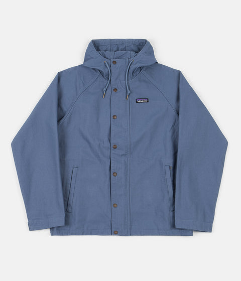 Patagonia Organic Cotton Canvas Jacket - Pigeon Blue