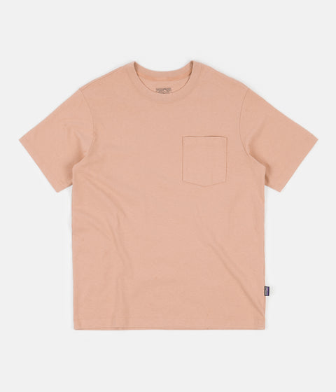 Patagonia Organic Cotton Midweight Pocket T-Shirt - Scotch Pink