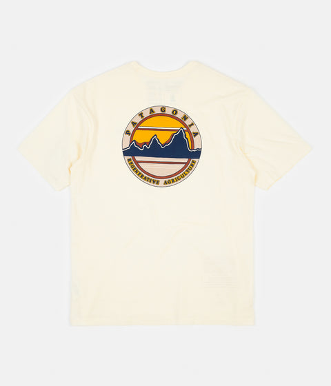 Patagonia Road to Regenerative Pocket T-Shirt - White Wash