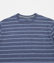 Patagonia Squeaky Clean Pocket T-Shirt - Sentinel Stripe / Dolomite Blue