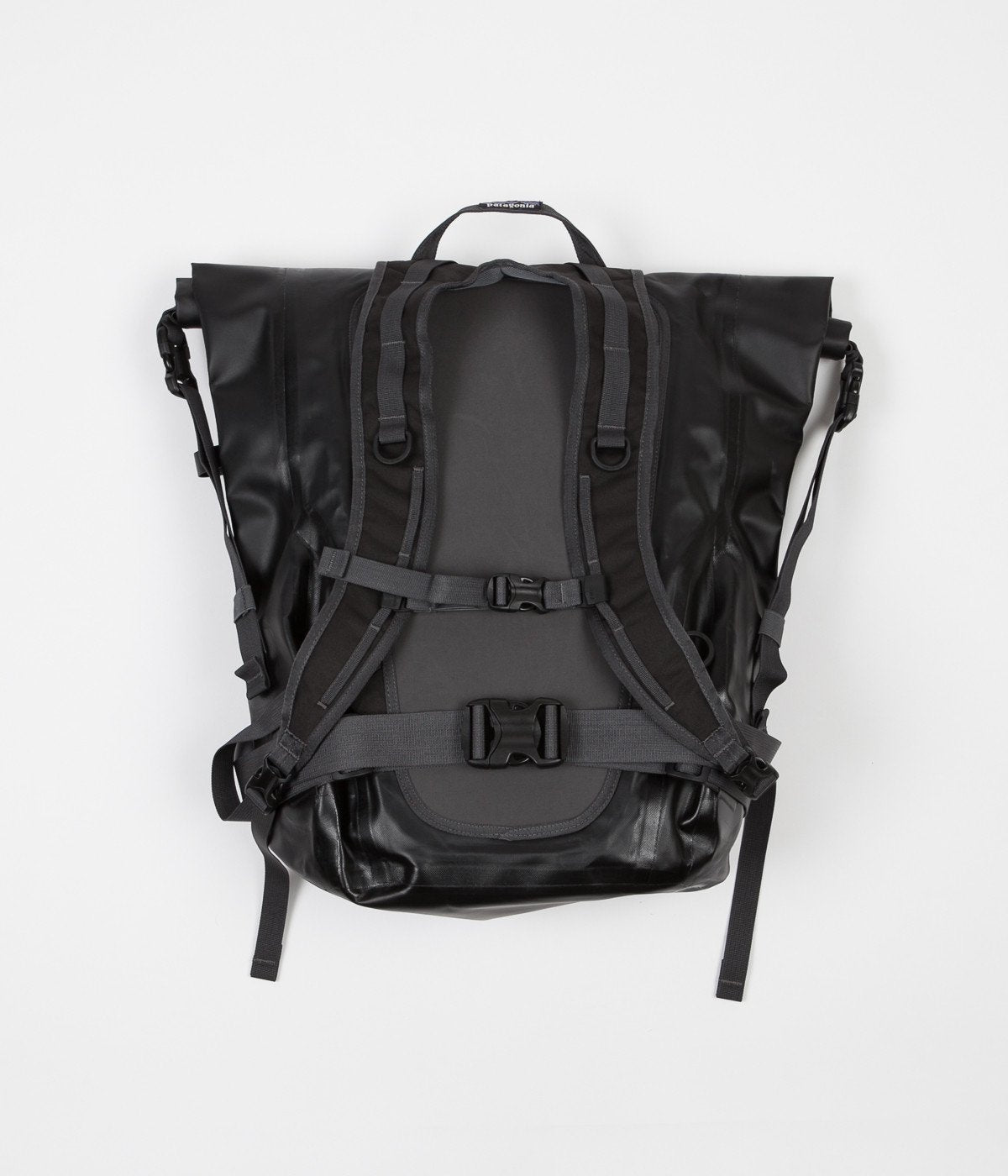 5c7a02ba2b7 Patagonia Stormfront Roll Top Backpack - Black   Always in Colour