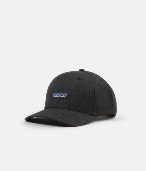 Patagonia Tin Shed Hat - P-6 Logo: Ink Black
