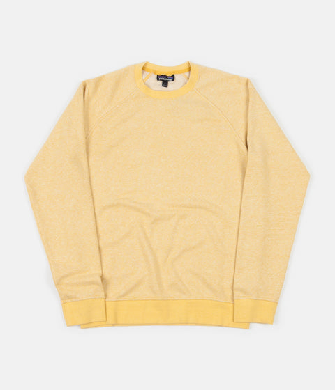 Patagonia Trail Harbor Crewneck Sweatshirt - Long Plains: Surfboard Yellow / Resin Yellow