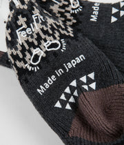 RoToTo Comfy Room Socks - Nordic Charcoal