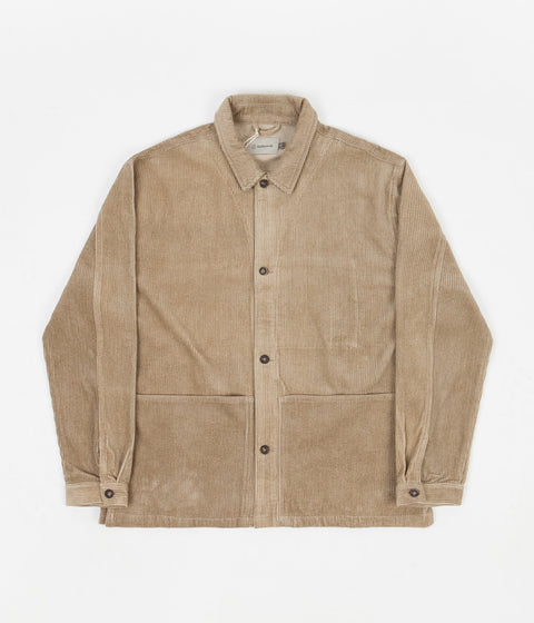 Satta Allotment Cord Jacket - Taupe