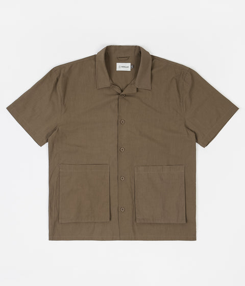 Satta Camp Shirt - Dark Olive