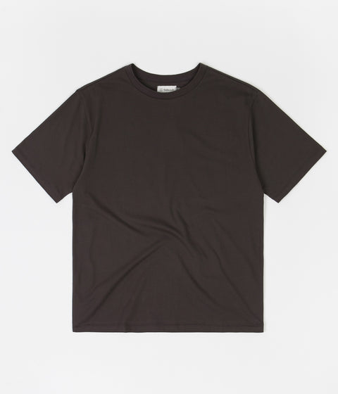 Satta Organic Cotton T-Shirt - Washed Black