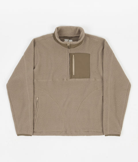 Satta Ovo Fleece - Pebble Beige