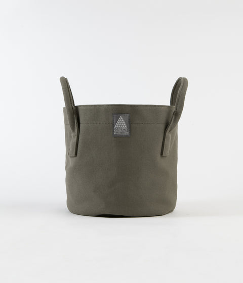 Satta Plant Pot Cover - Olive Drab