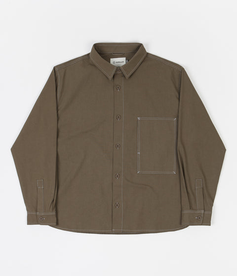 Satta Tundra Shirt - Washed Charcoal
