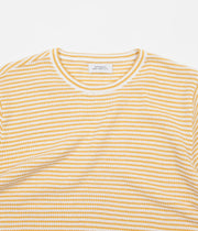 Saturdays NYC Brandon Stripe T-Shirt - Dusty Amber