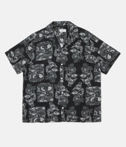 Saturdays NYC Canty Pendant Short Sleeve Shirt - Black