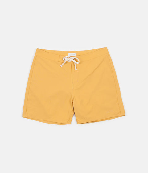 Saturdays NYC Colin Solid Board Shorts - Dusty Amber