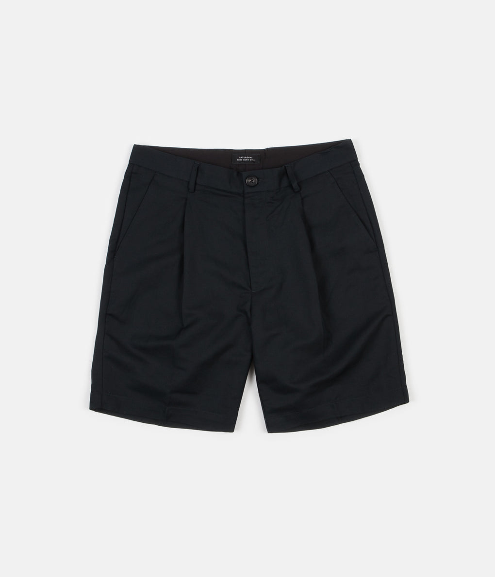 Saturdays NYC Gurkha Shorts - Black