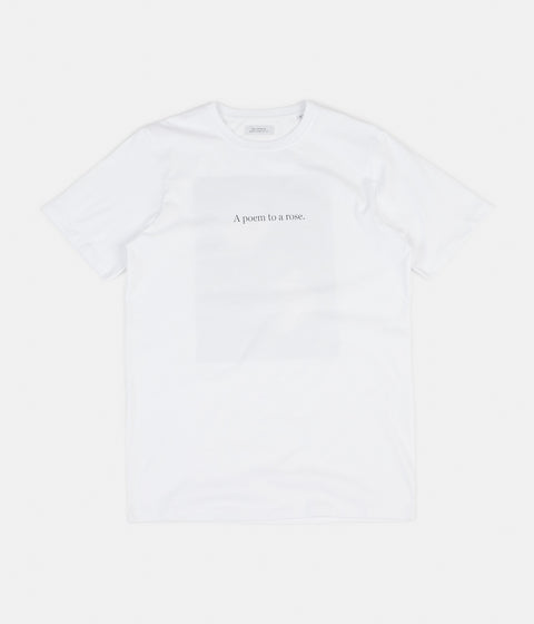 Saturdays NYC Poem T-Shirt  - White