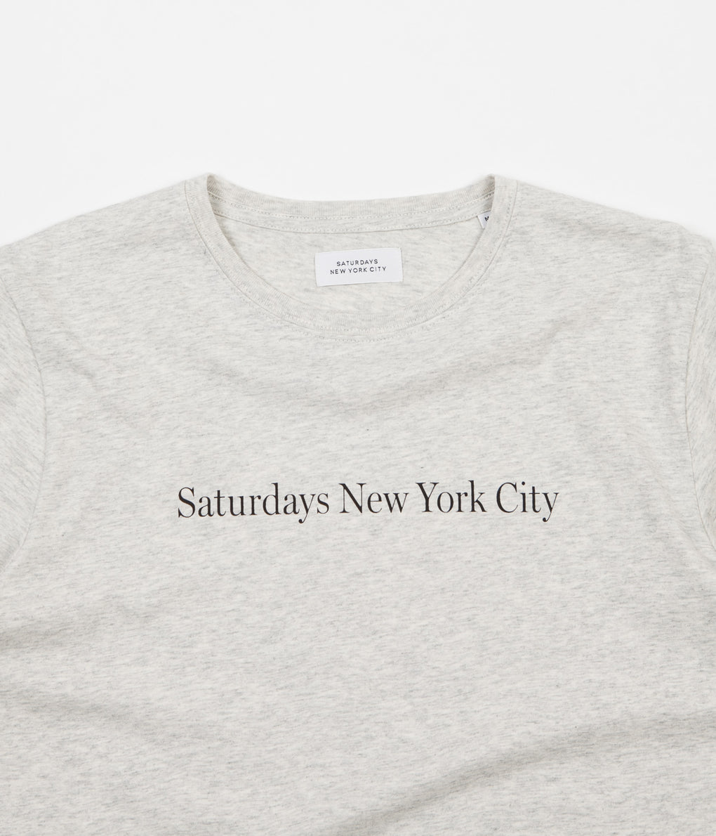 Saturdays NYC 'Saturdays NYC' T-Shirt - Natural Heather