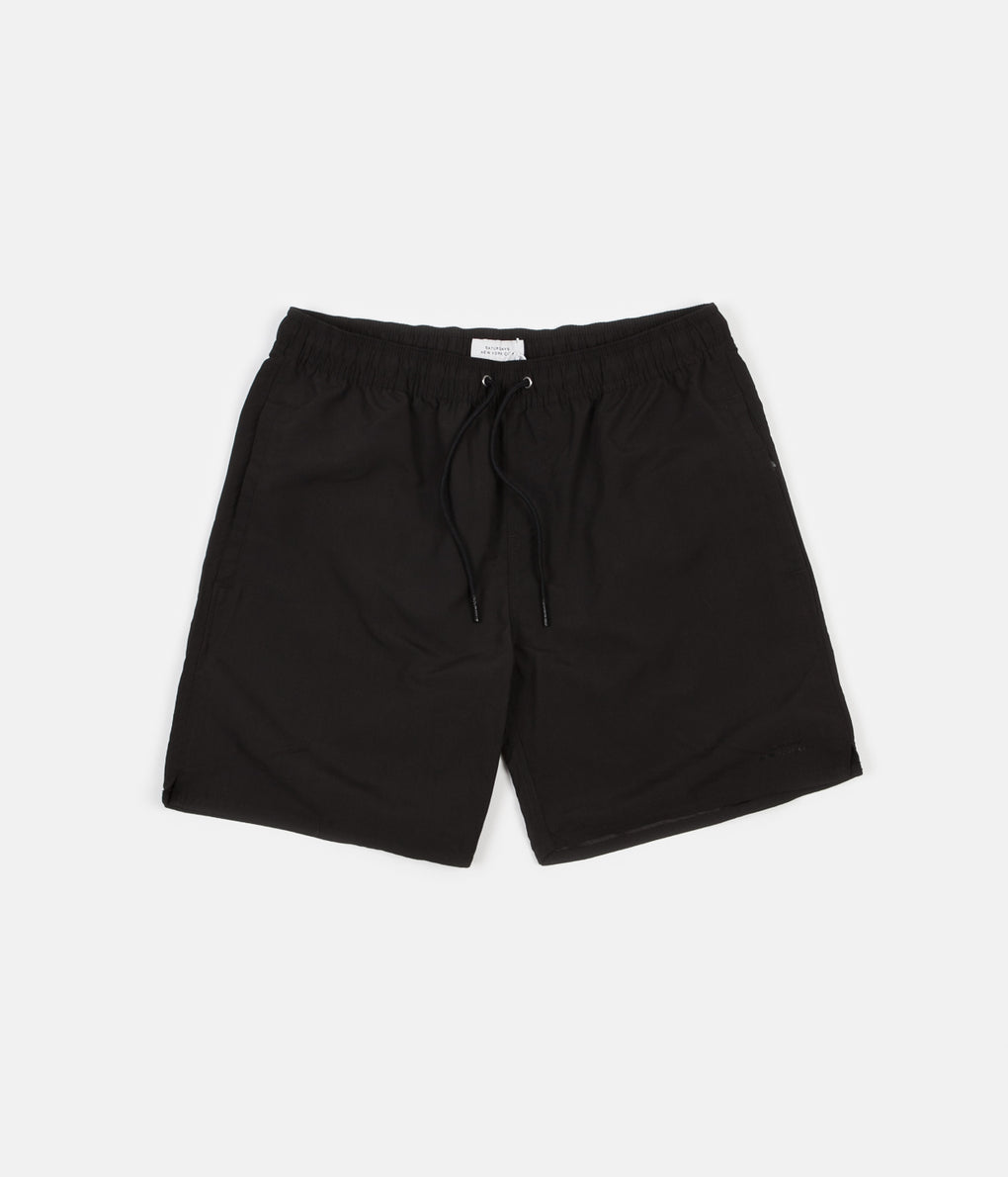 Saturdays NYC Timothy Swim Shorts - Black