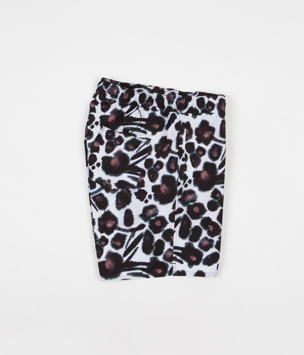Saturdays NYC Timothy Water Floral Swim Shorts - Dark Mauve