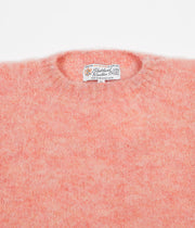 Shetland Woollen Co. Shaggy S Knit Crewneck Sweatshirt - Sunglow