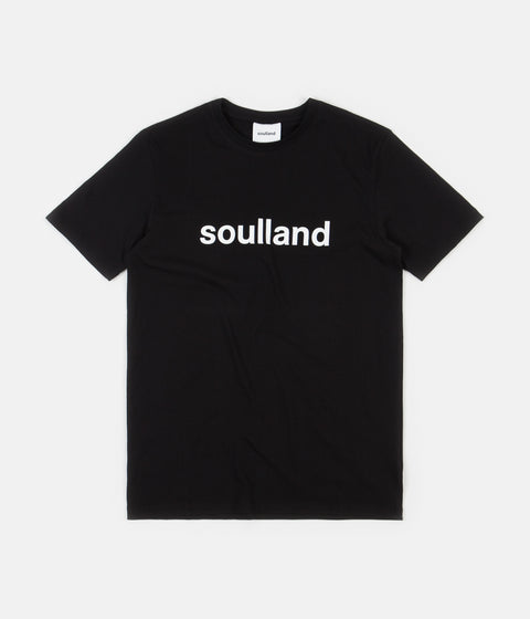 Soulland Chuck T-Shirt - Black