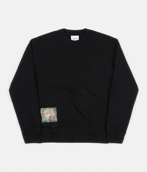 Soulland Stilleben Square Sweatshirt - Black
