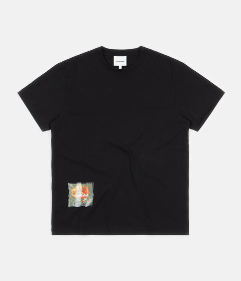 Soulland Stilleben Square T-Shirt - Black