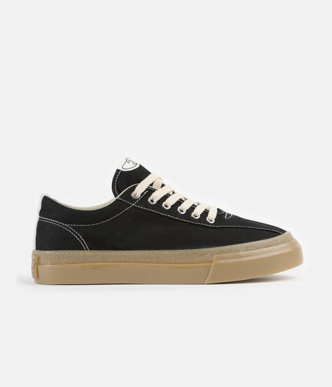 Stepney Workers Club Dellow Canvas Shoes - Black / Gum