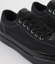 Stepney Workers Club Dellow Canvas Shoes - Black / Black