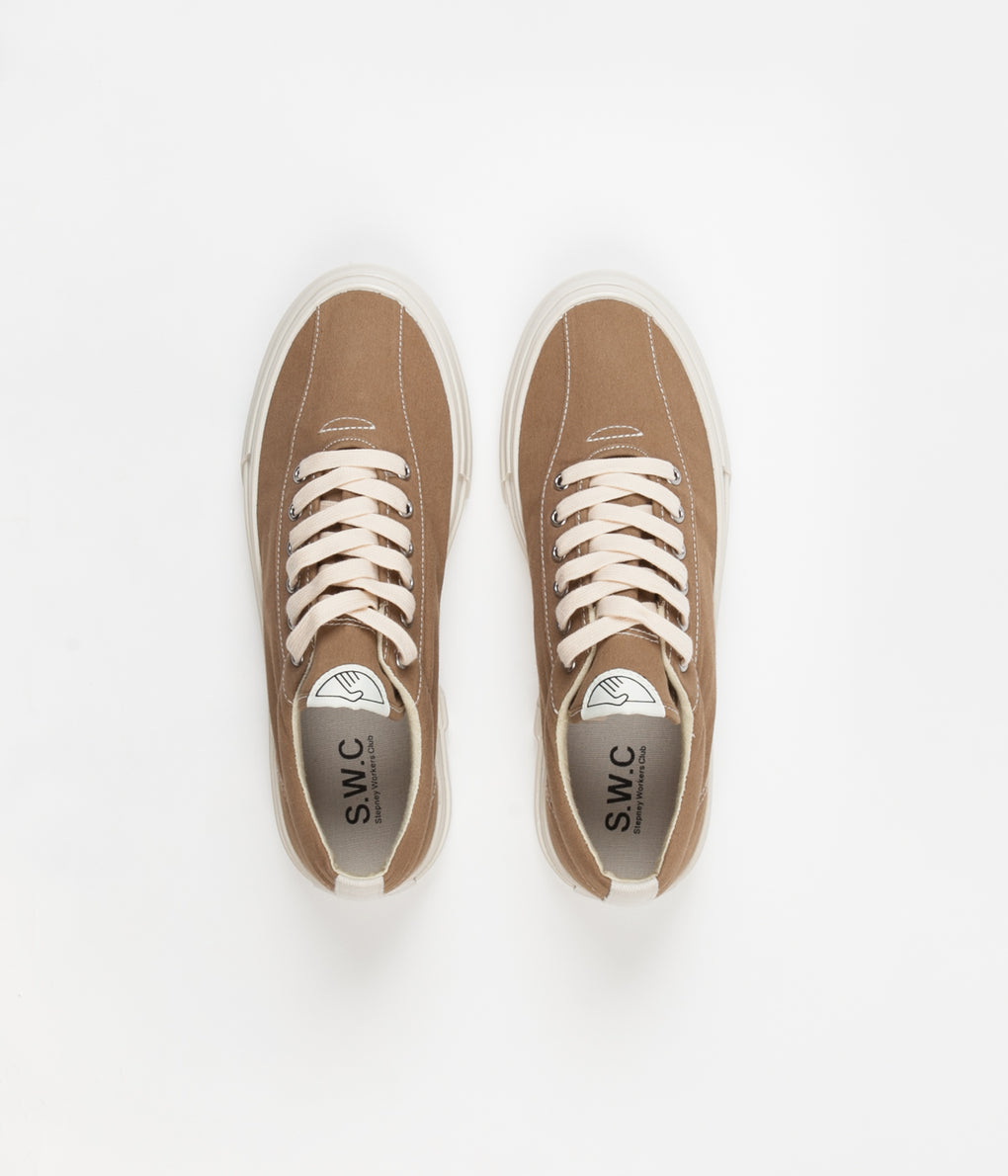 Stepney Workers Club Dellow Canvas Shoes - Desert