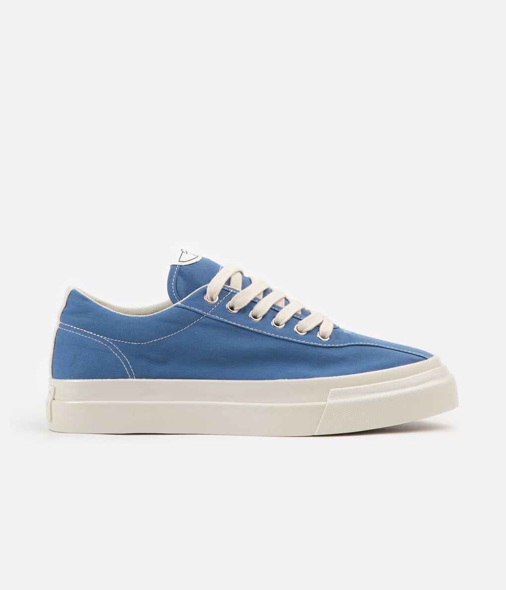 Stepney Workers Club Dellow Canvas Shoes - Dust Blue