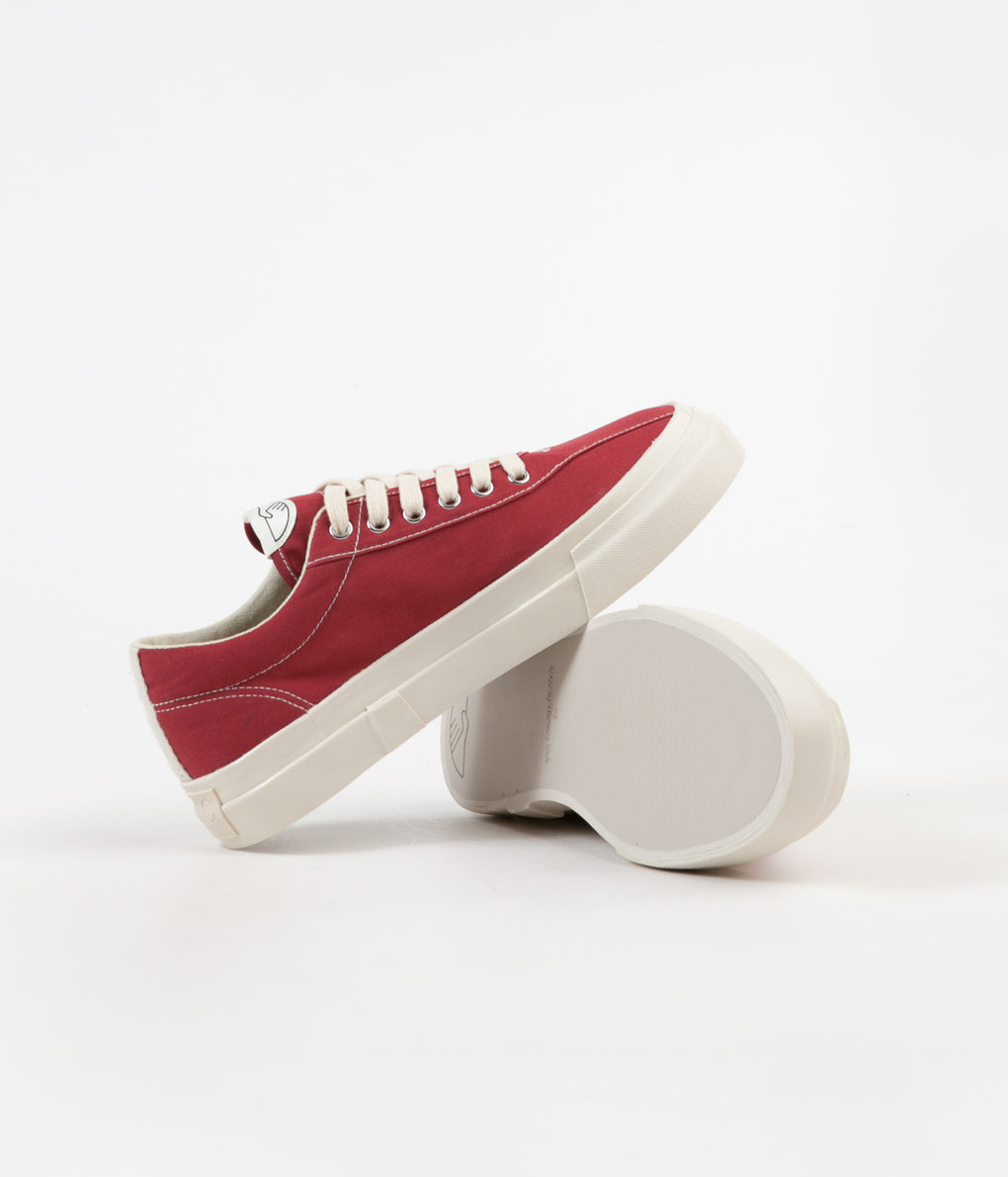 Stepney Workers Club Dellow Canvas Shoes - Dust Red