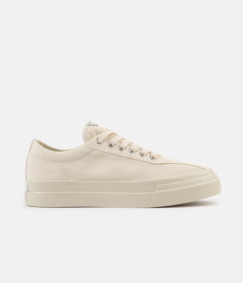 Stepney Workers Club Dellow Canvas Shoes - Raw Ecru