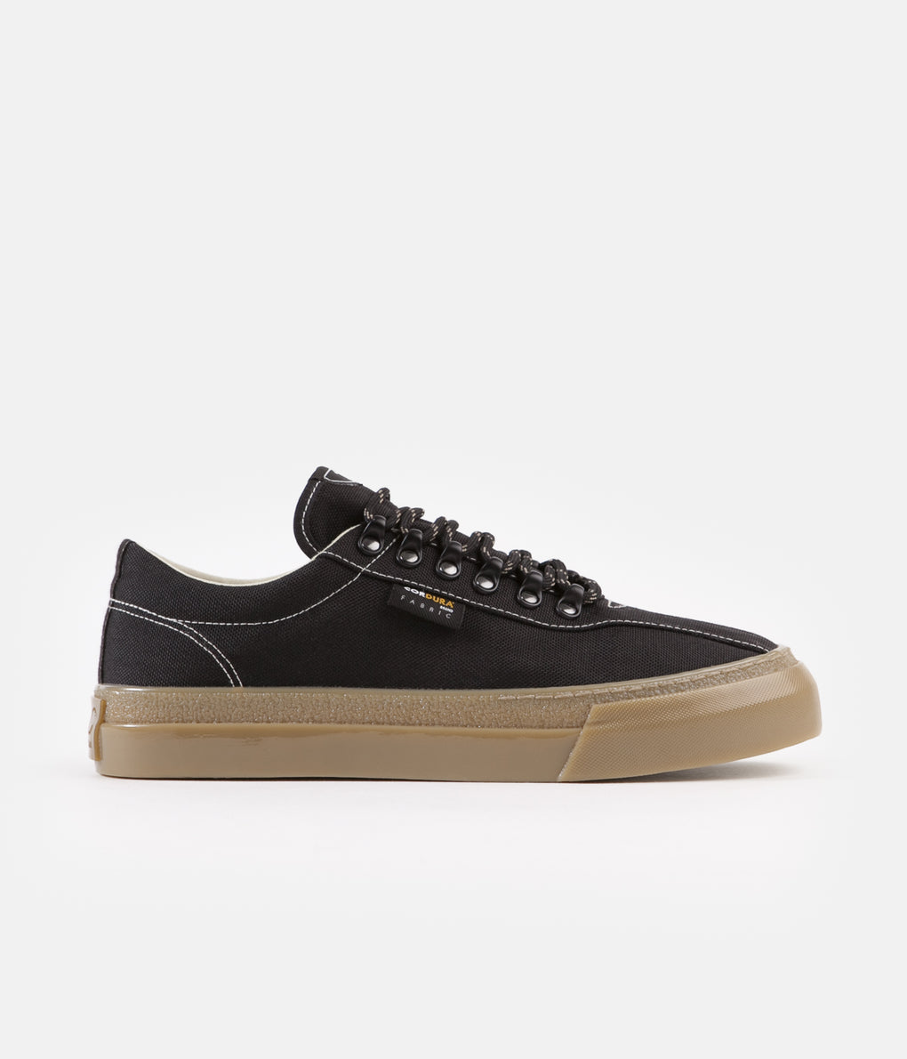 Stepney Workers Club Dellow Cordura Shoes - Black / Gum
