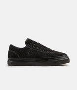 Image for Stepney Workers Club Dellow Hairy Suede Shoes - Black