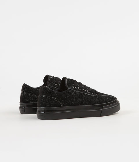 Stepney Workers Club Dellow Hairy Suede Shoes - Black