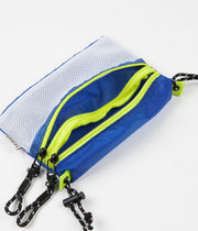 Taikan Everything Sacoche Bag - White / Blue / Yellow - Small