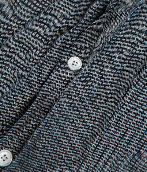 Tender Type 930 Double Front Butterfly Jacket - Rinsed Indigo Weft Sawtooth Twill