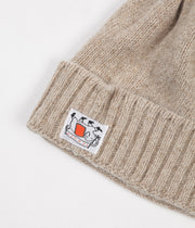 Tender Type 827 Drawn Knitted Hat - Rinsed Natural Jute