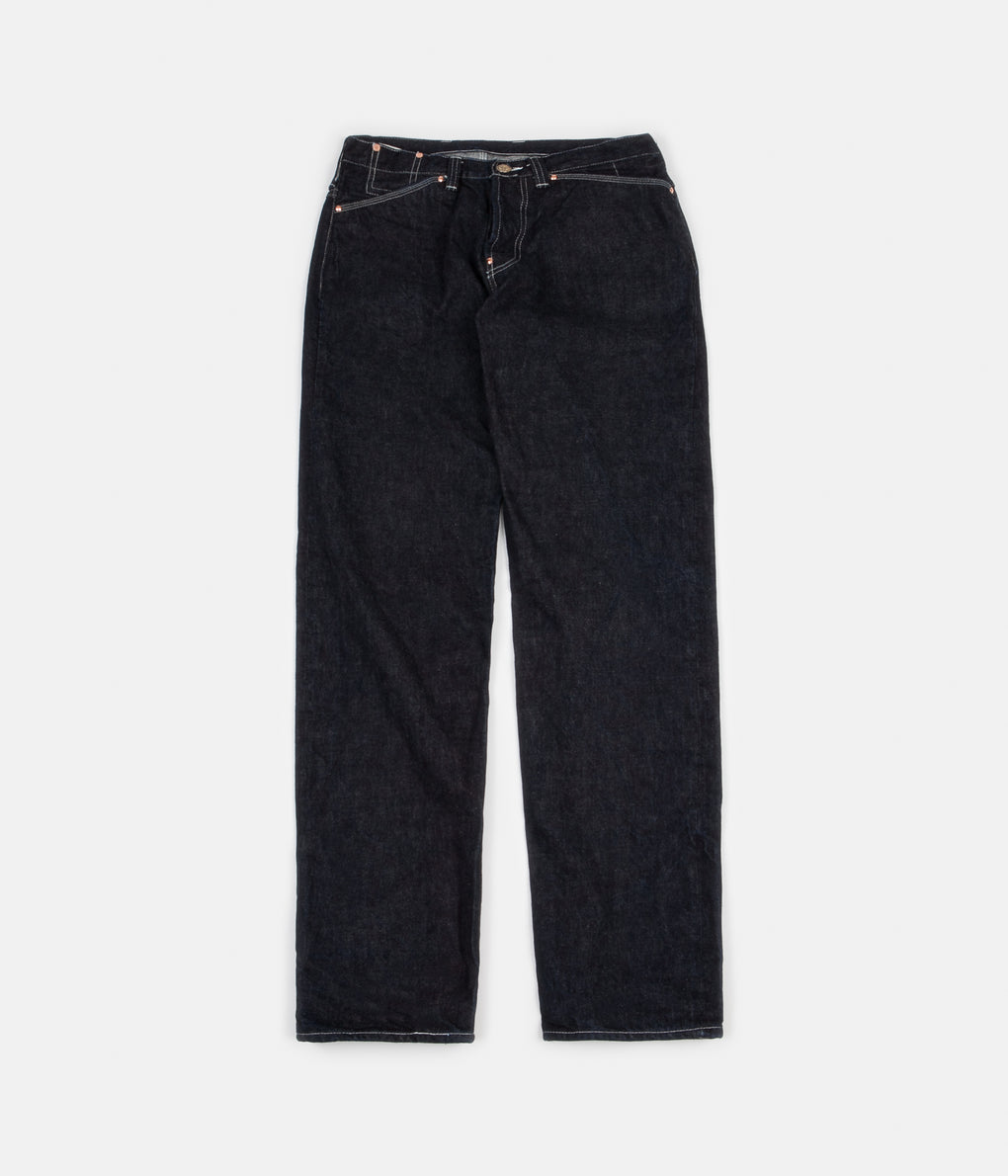 Tender Type 132 Wide Jeans - 16oz Selvage Denim Rinse Wash