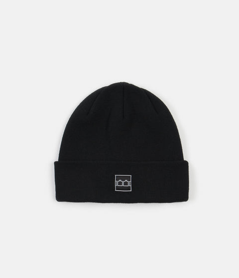 The Trilogy Tapes Logo Beanie - Black